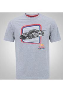 Camiseta Red Bull Racing Sc Cacá - Masculina - Cinza Claro