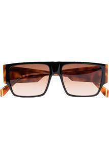 Kaleos Óculos De Sol Quadrado Robledo - Marrom
