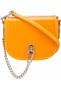 Marc Jacobs Bolsa The Saddle - Laranja