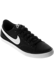 Tênis Nike Primo Court Canvas - Feminino-Preto+Branco