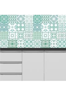 Adesivo Azulejos Turqueses (20X20Cm)