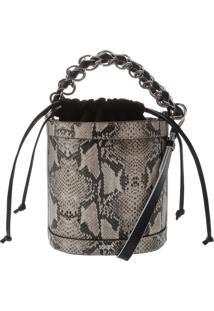 Bucket Bag Python | Schutz