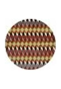 Tapete Marbella Chouilly Redondo (150X150Cm) Colorido