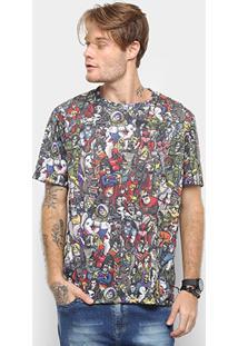 Camiseta Cavalera Quadrinhos Masculina - Masculino