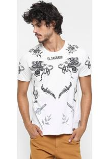 Camiseta Sommer El Sagrado Full Print - Masculino