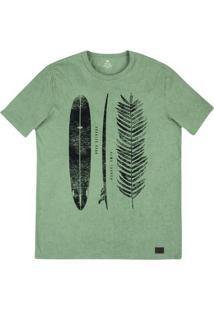 Camiseta Masculina Em Malha De Algodão Estonada Em Modelagem Slim