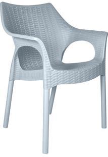 Cadeira Relic Polipropileno Cinza