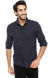 Camisa Sommer Xadrez Azul