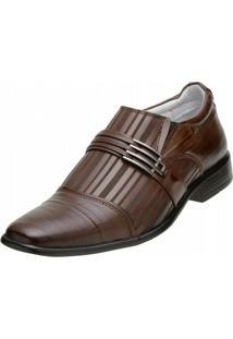 Sapato Social Alcalay - Masculino-Marrom