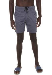 Bermuda Jeans Hurley Chino Walk Mix Azul