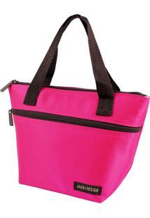 Bolsa Térmica Pequena Com Alça Jacki Design Essencial Pink - Kanui