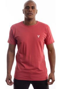 Camiseta Manga Curta Valks Berry Goiaba