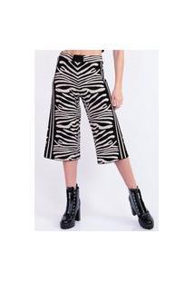 Calça Bana Bana Pantacourt Zebra