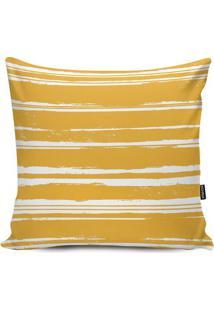 Capa Para Almofada Impermeável- Amarela & Branca- 45Stm Home