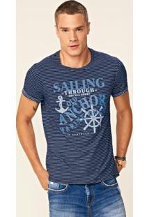 Camiseta Azul Enfim