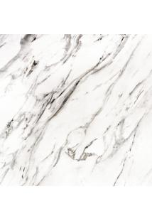 Papel De Parede Adesivo Mármore Branco Mescla (0,60M X 1,20M)