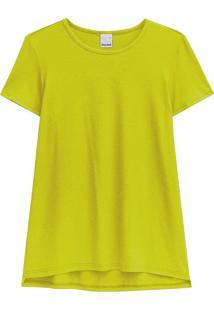 Blusa Amarela Ampla Malwee Amarelo - Pp