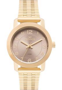 Relógio Digital Clock Dourado feminino   Shoelover 5d9e96d5d9