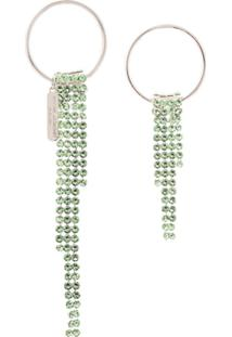 Justine Clenquet Par De Brincos Jade - Verde
