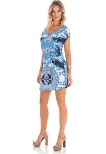 Vestido Laguna Beach - N821 Marinho/P