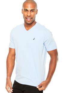 Camiseta Nautica Conforto Azul
