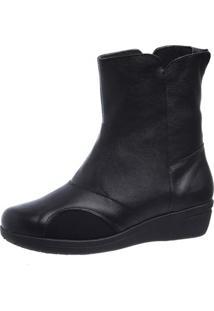 Bota Joanete Doctor Shoes 210 Preto - Preto - Feminino - Dafiti