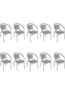 Cadeiras Poltrona Em Alumínio Para Jardim Mor - Unissex