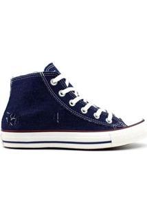 Tênis All Star Converse Feminino - Feminino-Azul