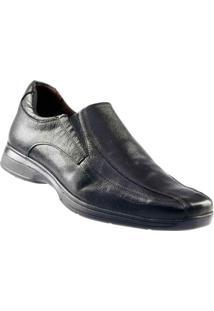 Sapato Casual Masculino D`Mazons - Masculino-Preto