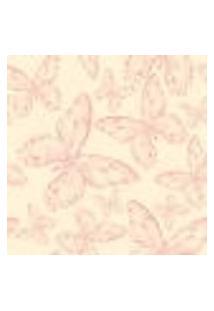Papel De Parede Adesivo - Borboletas Rosa - 012Pps