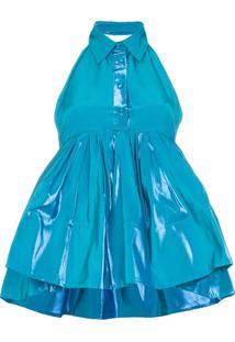 Rosie Assoulin Blusa Sem Mangas - Azul
