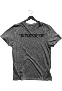 Camiseta Jay Jay Básica Influencer Chumbo Dtg