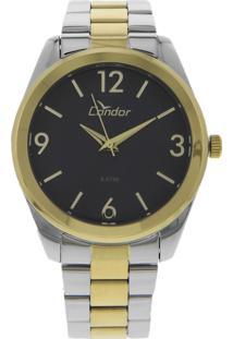 Relógio Condor Co2035Ksf5A Prata/Dourado