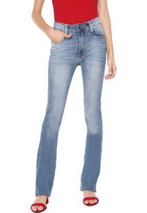 9a3d181e9 ... Calça Jeans Lança Perfume Bootcut Estonada Azul