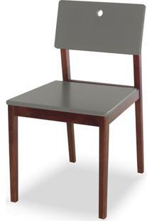 Cadeira Flip Cor Cacau Com Fendi - 30831 - Sun House