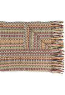 Missoni Cachecol Com Padronagem Chevron - Neutro