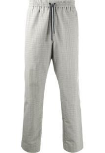 Kenzo Drawstring Waist Trousers - Cinza