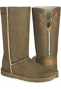 Bota Barth Shoes Las Lenas Feminina - Feminino-Areia