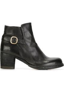 Officine Creative Ankle Boot De Couro 'Varda' - Cinza