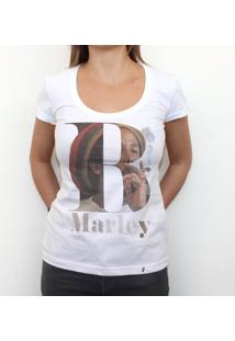 B Marley - Camiseta Clássica Feminina
