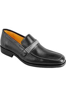 Sapato Social Masculino Loafer Sandro Moscoloni Wisconsin Preto