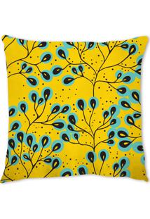 Capa De Almofada Renata Sader Hatta Amarela 45X45Cm - Amarelo - Dafiti