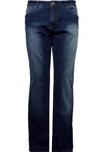 Calça Calvin Klein Jeans Estonada Azul