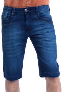 Bermuda Jeans Carlan Basic Orange Blue