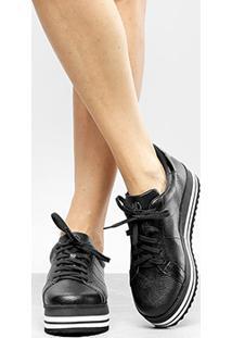 71c2cbd36 R$ 359,99. Netshoes Tênis Dumond Flatform Bicolor Feminino ...