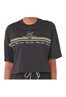 Camiseta Estampada Preta Colcci 034.57.00282