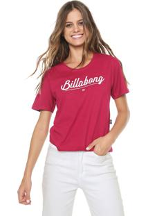 Blusa Billabong Navy Pink