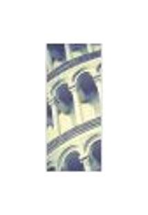 Adesivo Decorativo De Porta - Torre De Pisa - 270Pt Auto Colante