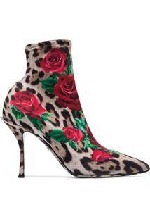 Dolce & Gabbana Bota Estampada 'Lori 90' - Estampado