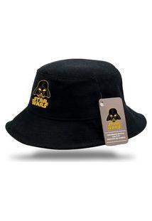 Chapéu Bucket Preto Personalizados Star Wars